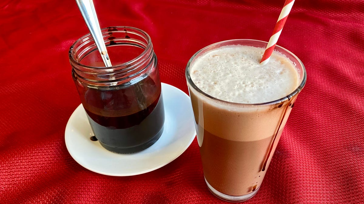 Recipe: Homemade chocolate syrup (and how to make an egg cream)