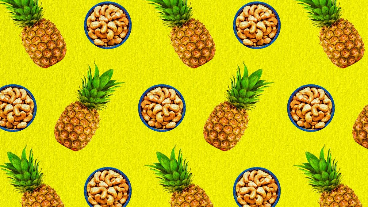 Pineapple Cashew Brûlée Pie is the dessert you've been waiting for