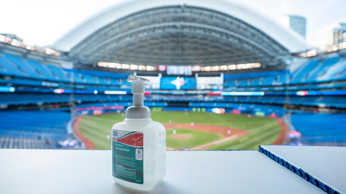 Rogers Centre, formerly SkyDome, aka SexDome, may be umm, going down
