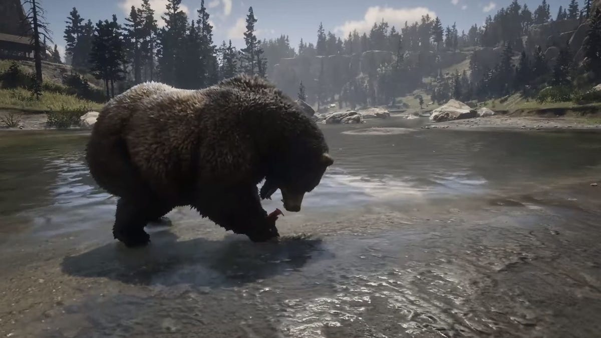 Let's Just Enjoy How Realistic Red Dead Redemption's Animals Are For A Second