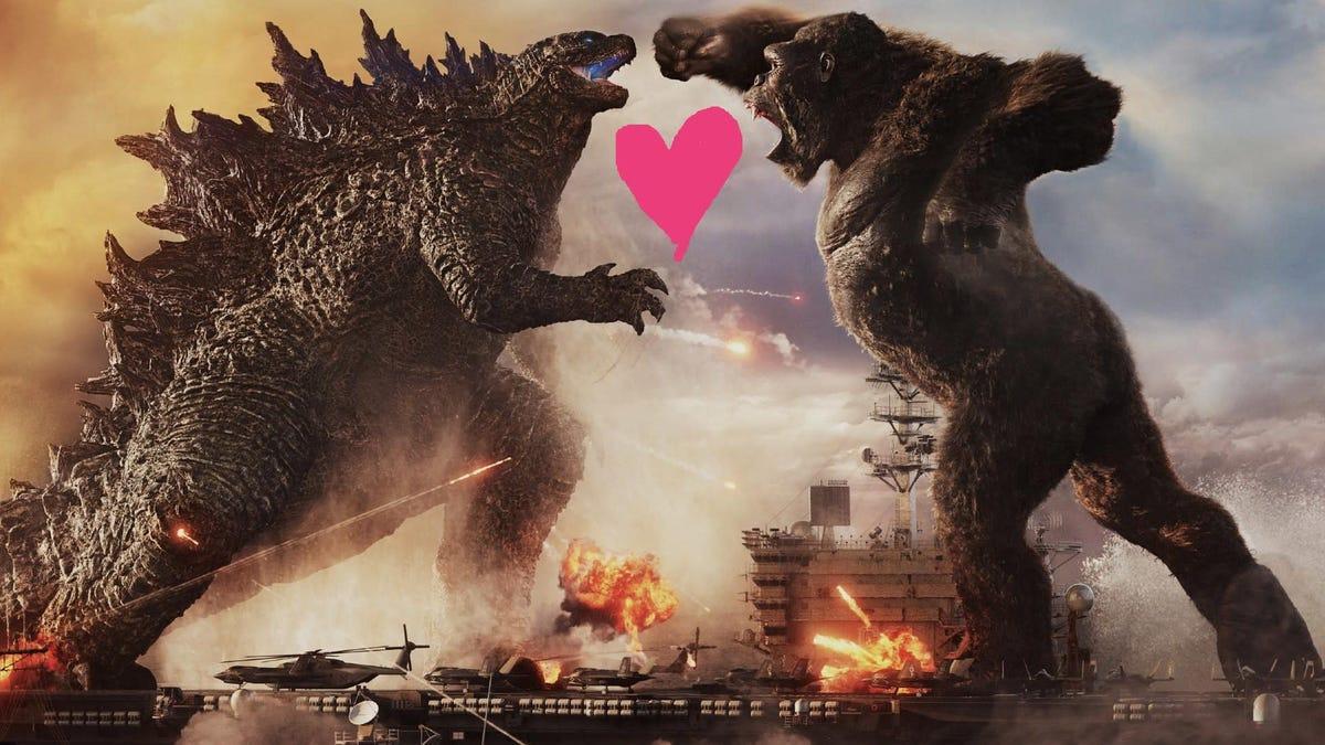 Godzilla and Kong Should Kiss