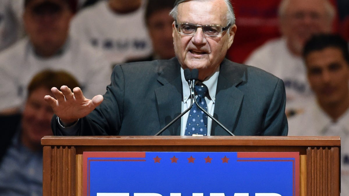 Federal Judge Officially Dismisses Guilty Verdict Against Joe Arpaio, Who Purposely Ignored Court Order, Illeg