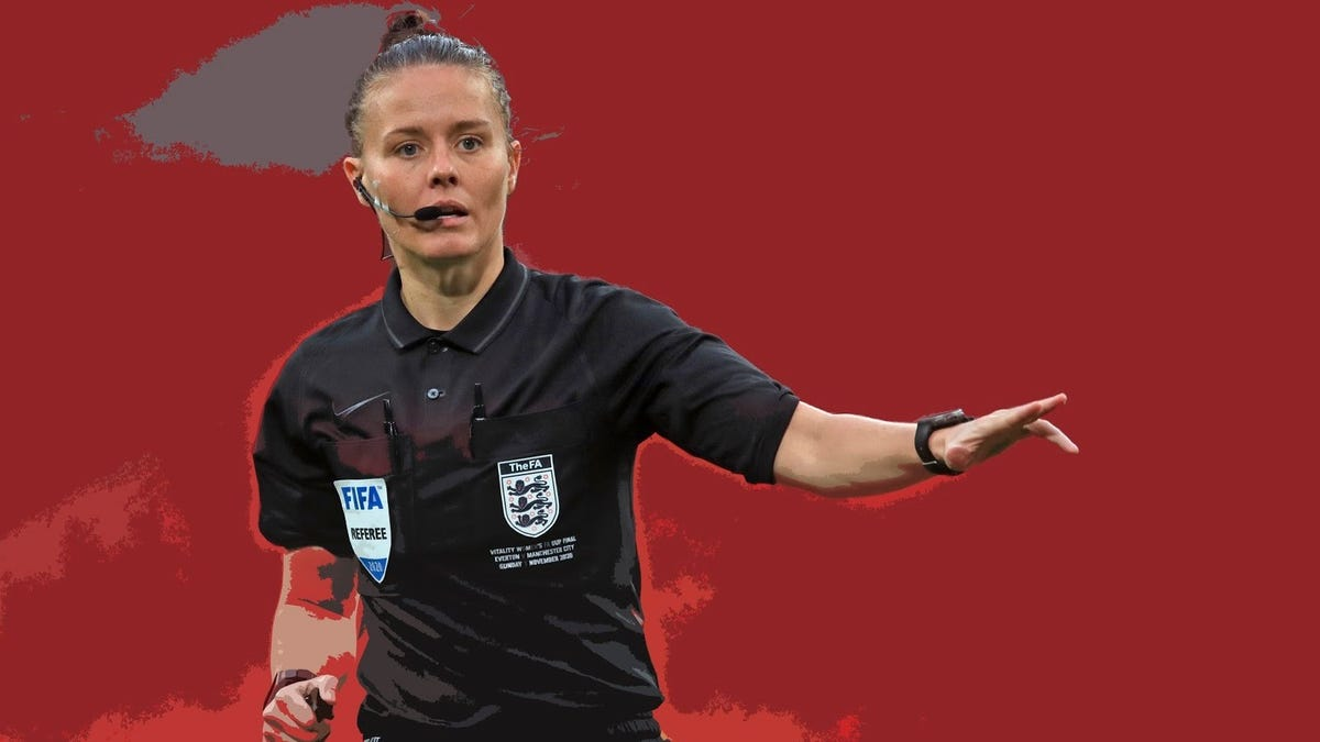 Rebecca Welch becomes first woman to ref English Football League match