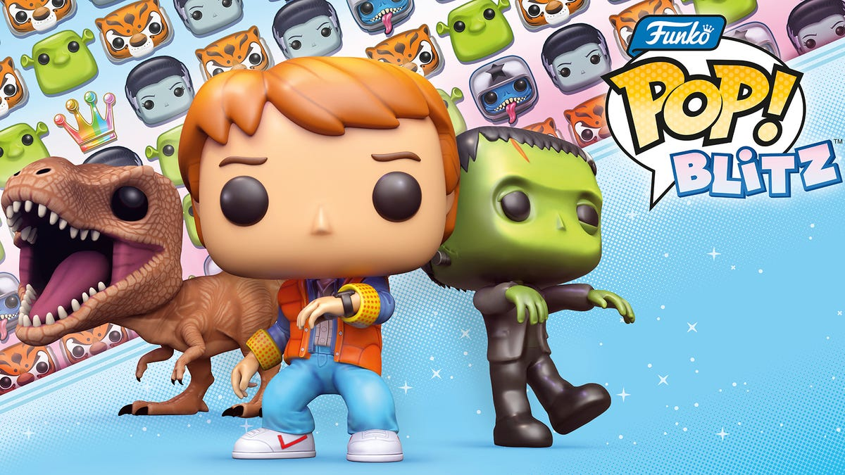 The Inevitable Funko Pop! Match-Three Mobile Game Is Here