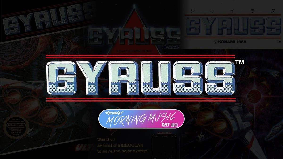 Gyruss Remixed Bach, Then NES Remixed Gyruss
