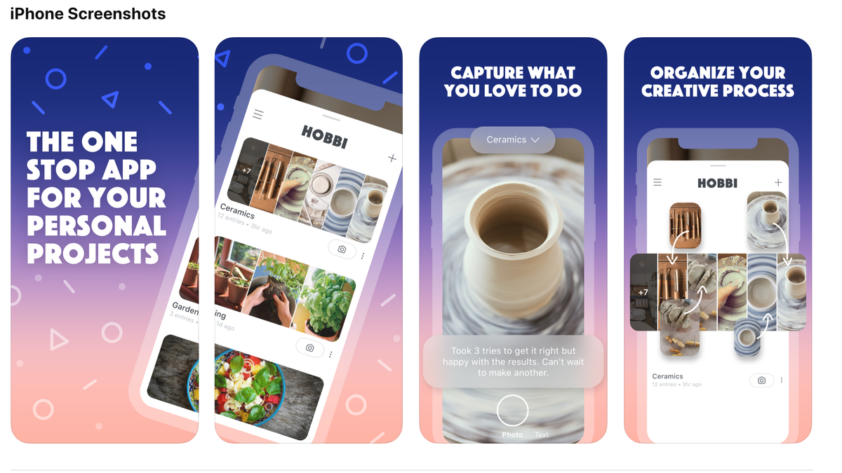 Facebook Stealthily Launched a Pinterest-Esque App Called Hobbi