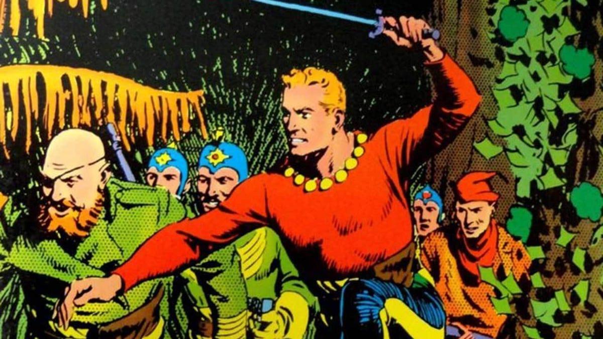 Alguien ha pagado medio millón de dólares por la primera tira de cómic de Flash Gordon