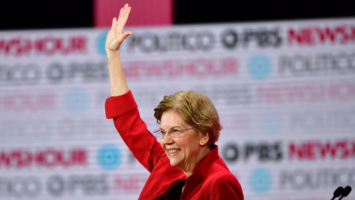 Elizabeth Warren - cover