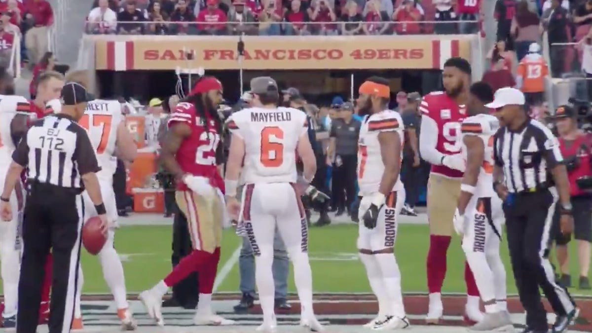 The Richard Sherman-Baker Mayfield Handshake Controversy Has Deepened And Dumbened