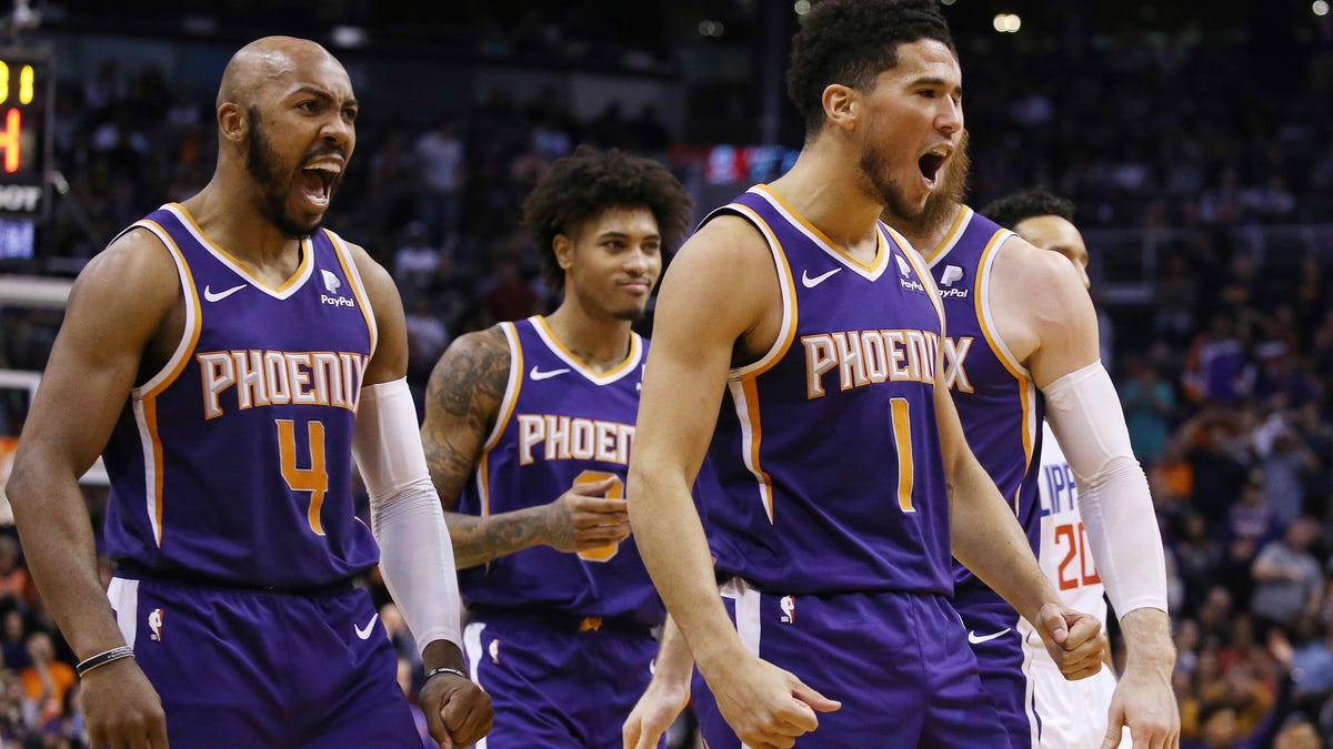 Bow Down Before The Mighty Devin Booker And His Unstoppable Phoenix Suns