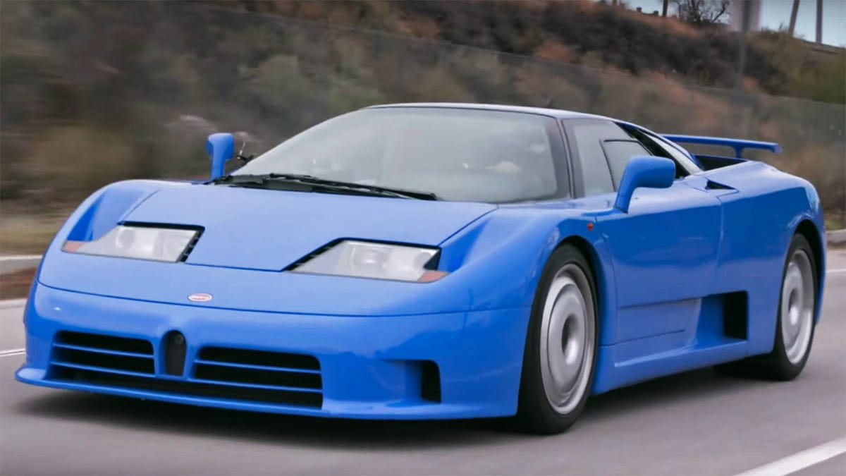 Best Car For Uber >> These Bugatti EB110 Explainers Will Give You a New Appreciation for That Toy Blue Car You Had