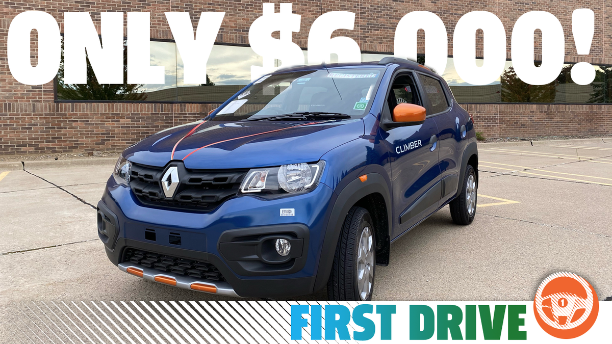 Renault Kwid: The Surprising Value Of A New $6,000 Car From India