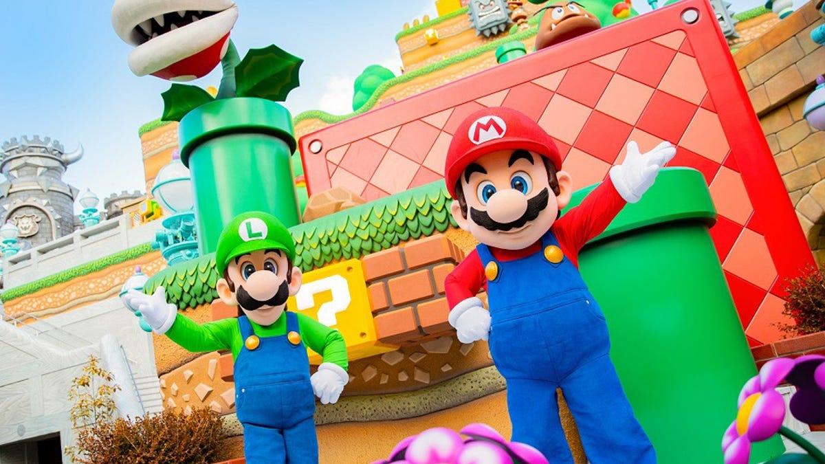 Super Nintendo World Finally Opens In Japan