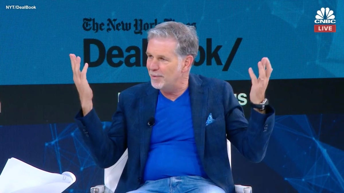 Netflix CEO: We're Not Trying to Do 'Truth to Power'