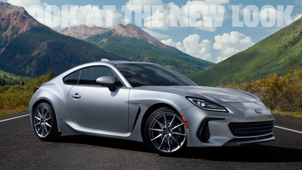 Let's Take A Deeper Look At The New 2022 Subaru BRZ's Design