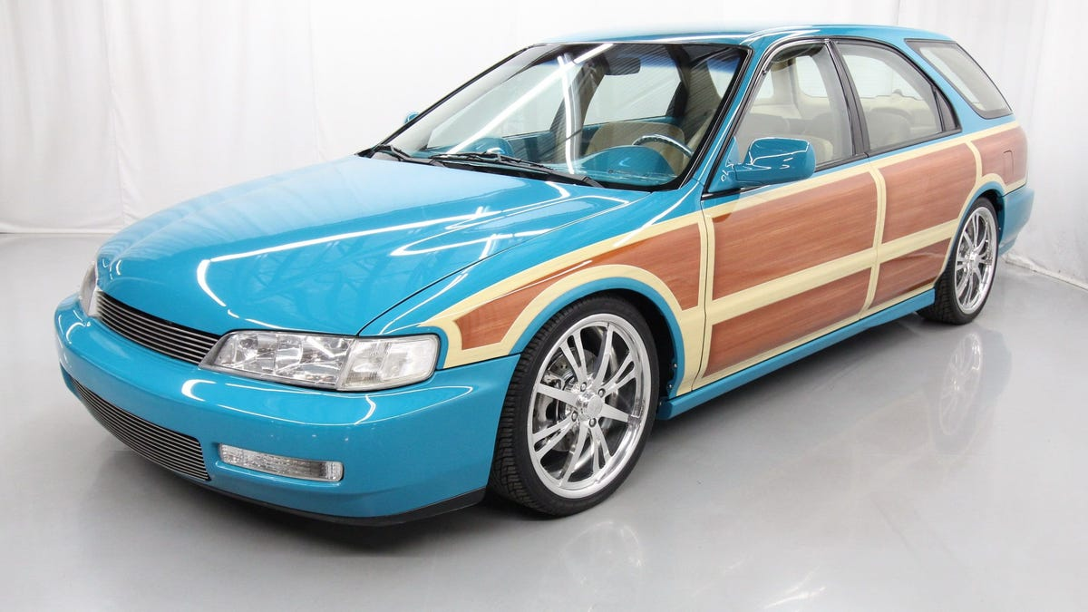 "Would You Pay $29,997 For This ""Wicked"" 1997 Honda Accord Wagon?"