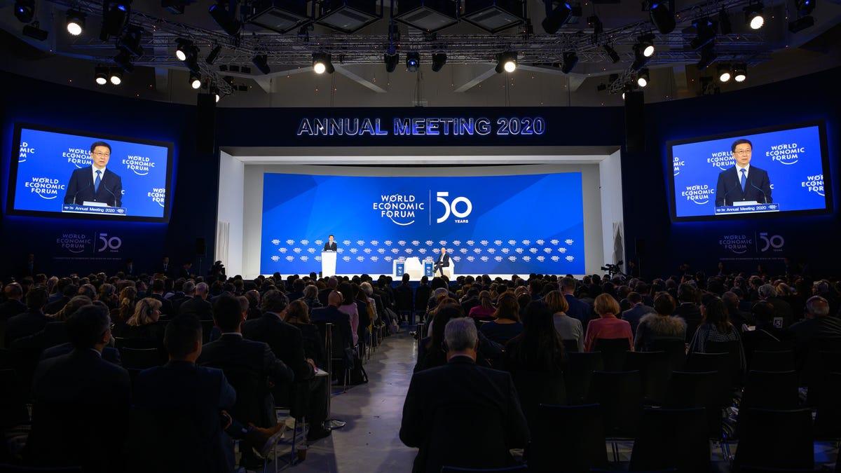 Erstmals für Davos-Teilnehmer Kann nicht Glauben, Wie Viele Seminare gibt Es zum Ausführen von Geheimen Kindesmissbrauch Ring