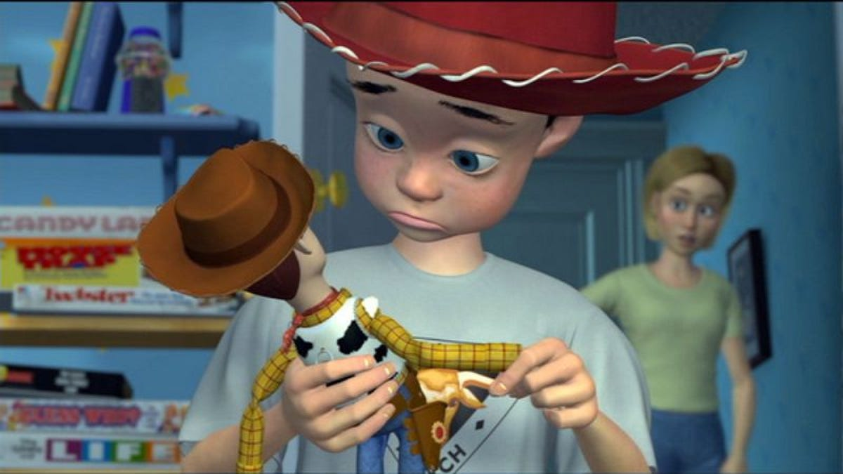 Andy's mom from Toy Story might actually be Jessie's original owner