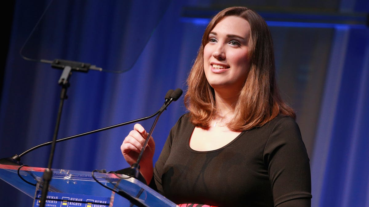 Anti-Trans Extremists Livestreamed Themselves Harassing Trans Activist Sarah McBride
