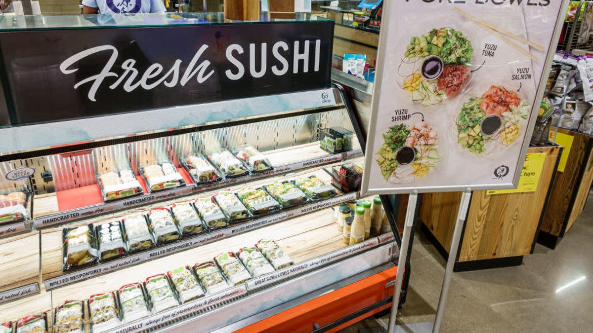 Sushi Station Takeout – Stop by the sushi station today!