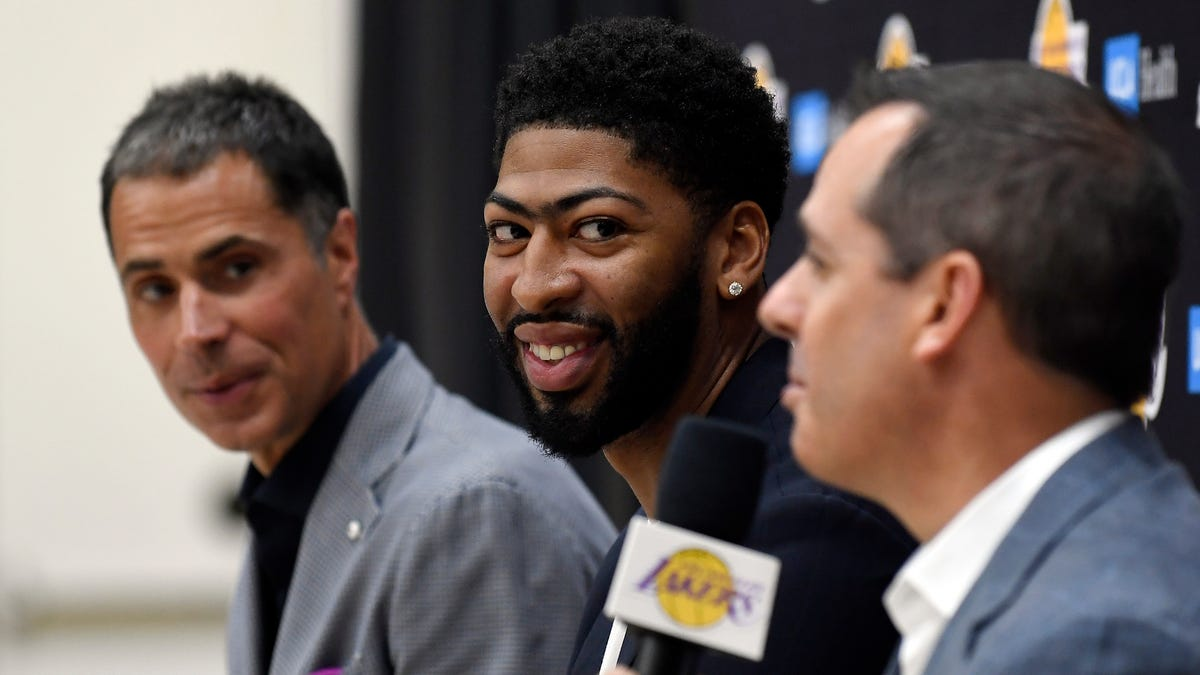 The Lakers Already Have A Center