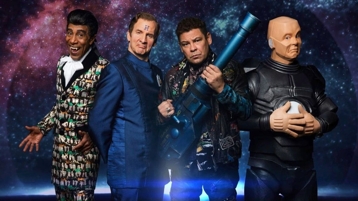 Red Dwarf Is Paying Off a Story Line After Three Decades