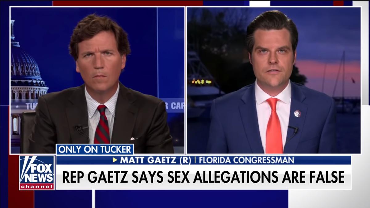 For Once, Tucker Carlson's Facial Expression Makes Sense