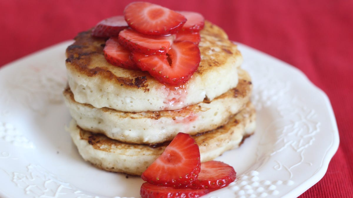 Add Cottage Cheese to Your Pancake Batter