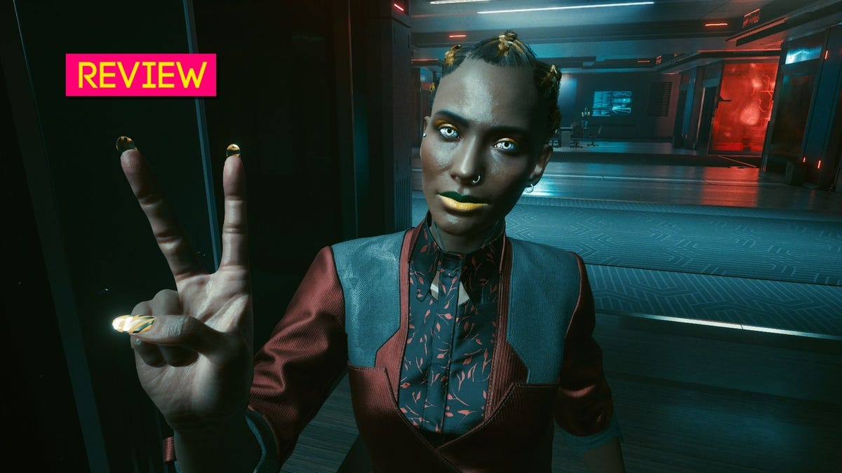 Cyberpunk 2077's Character Creator: The Kotaku Review