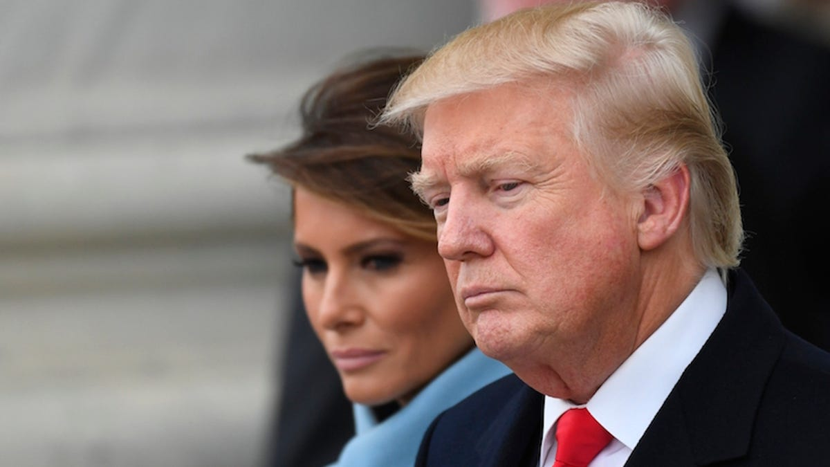 Melania Hates Donald: A Theory