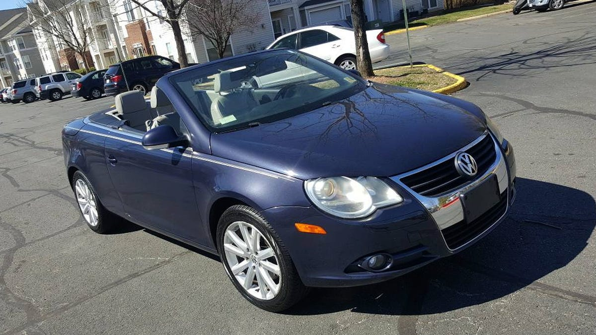At $5,200, Could This 2007 VW Eos Prove To Be An Indelible Deal?
