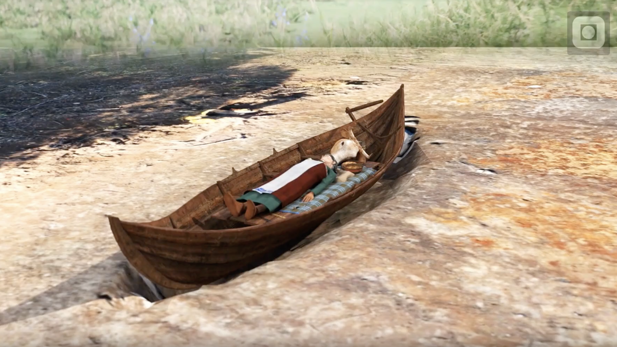 Why Did Vikings Bury Two People in Boats on Top of Each Other, 100 Years Apart?