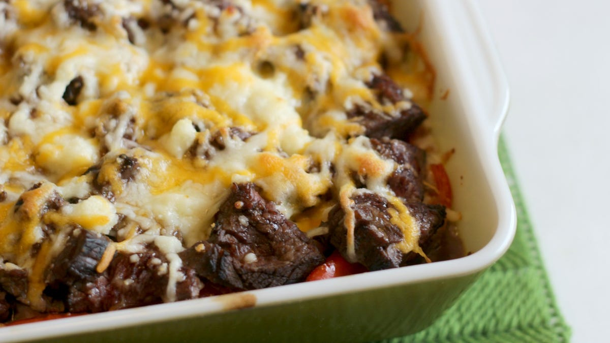 This Carne Asada Burrito Casserole Is a Highbrow Stoner's Delight