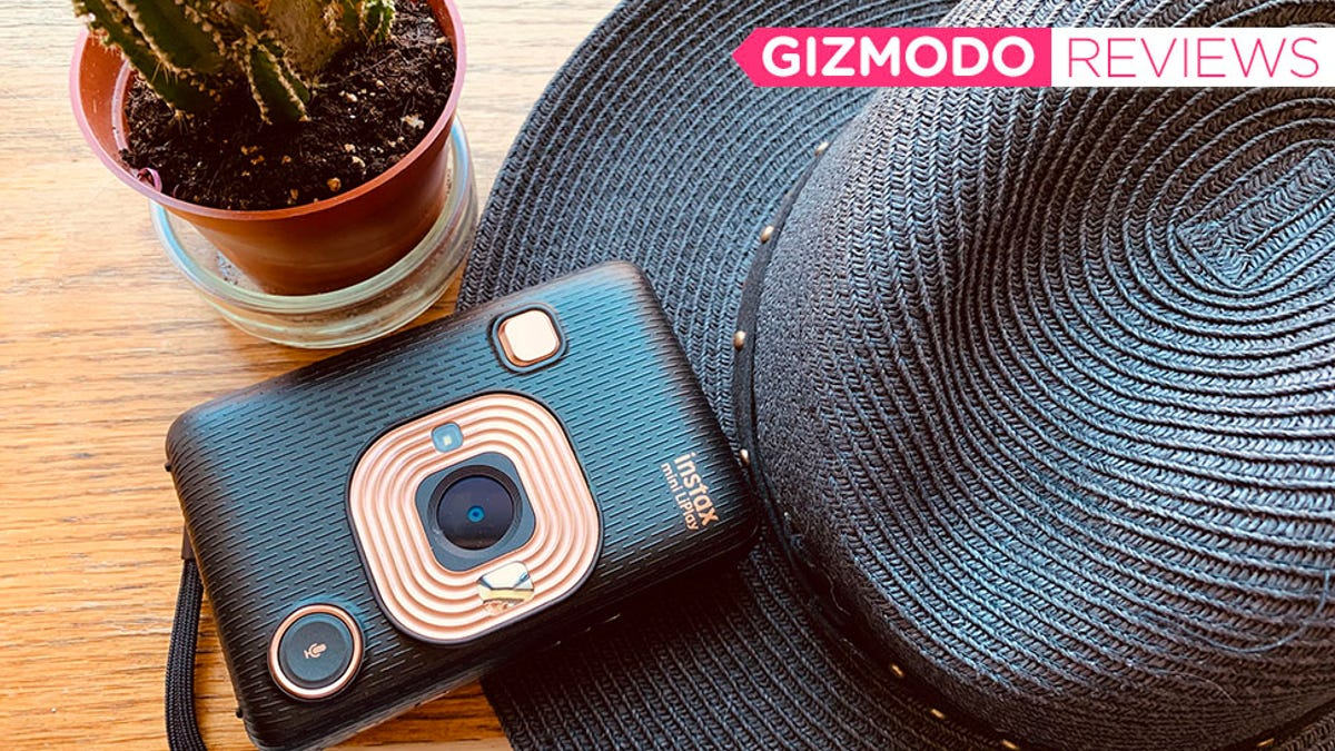 Instagram Is Ruining Instant Photography—The Instax Mini LiPlay Is Proof