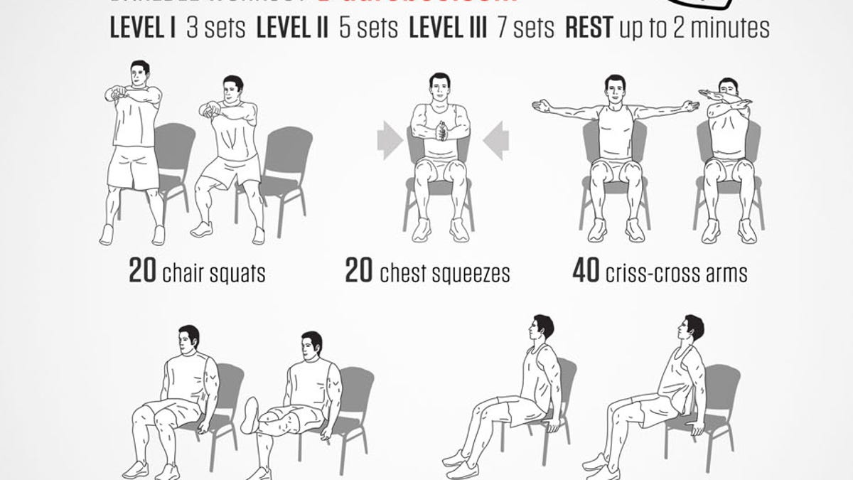 Magnificent A Full Body Workout You Can Do In Your Office Chair Gmtry Best Dining Table And Chair Ideas Images Gmtryco