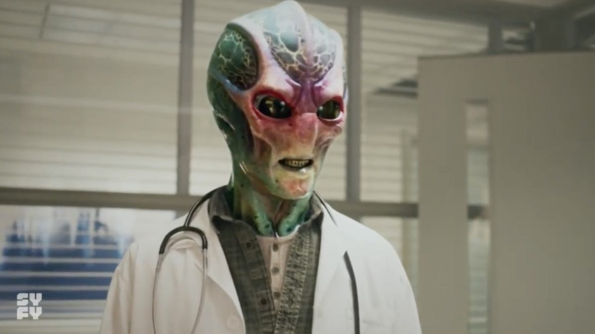 Alan Tudyk's Syfy Series Resident Alien Looks Like a Goofy Good Time