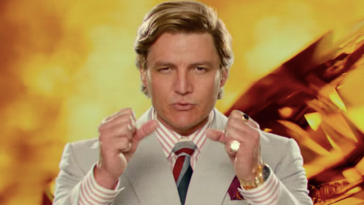 Pedro Pascal's Wonder Woman 1984 Is American Greed Incarnate
