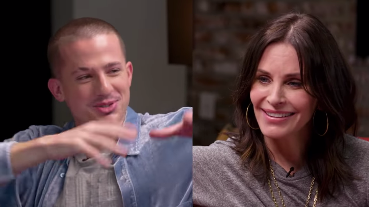 Courteney Cox gives Charlie Puth the easiest Friends quiz ever