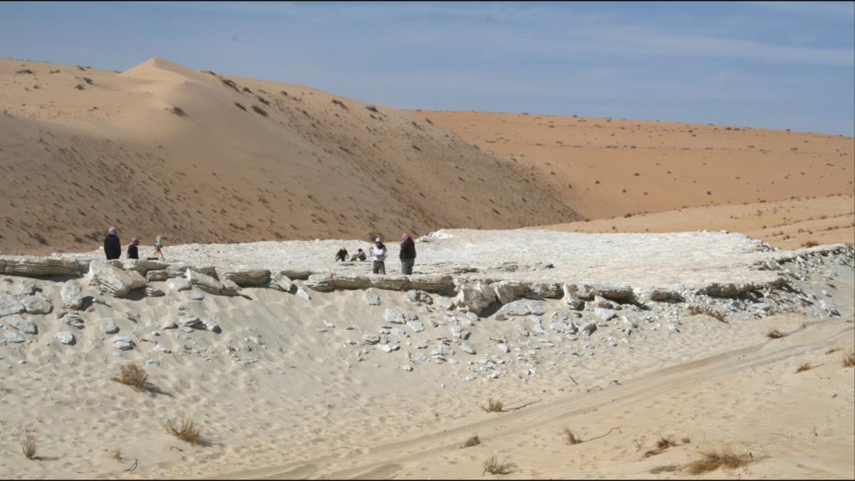 120,000-Year-Old Human Footprints Mark Possible Migration Route Through Arabian Peninsula