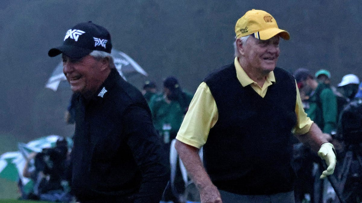 Did Augusta really need to put Jack Nicklaus and Gary Player at risk in the time of COVID-19?