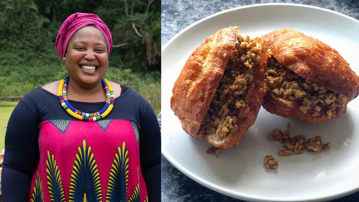 Chef Zola Nene shares her recipe for a South African street food staple