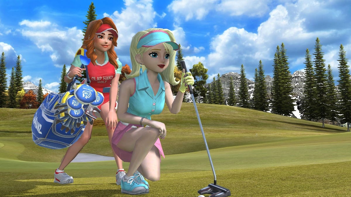 Clap Hanz' First Non-PlayStation Golf Game Is My New Happy Place