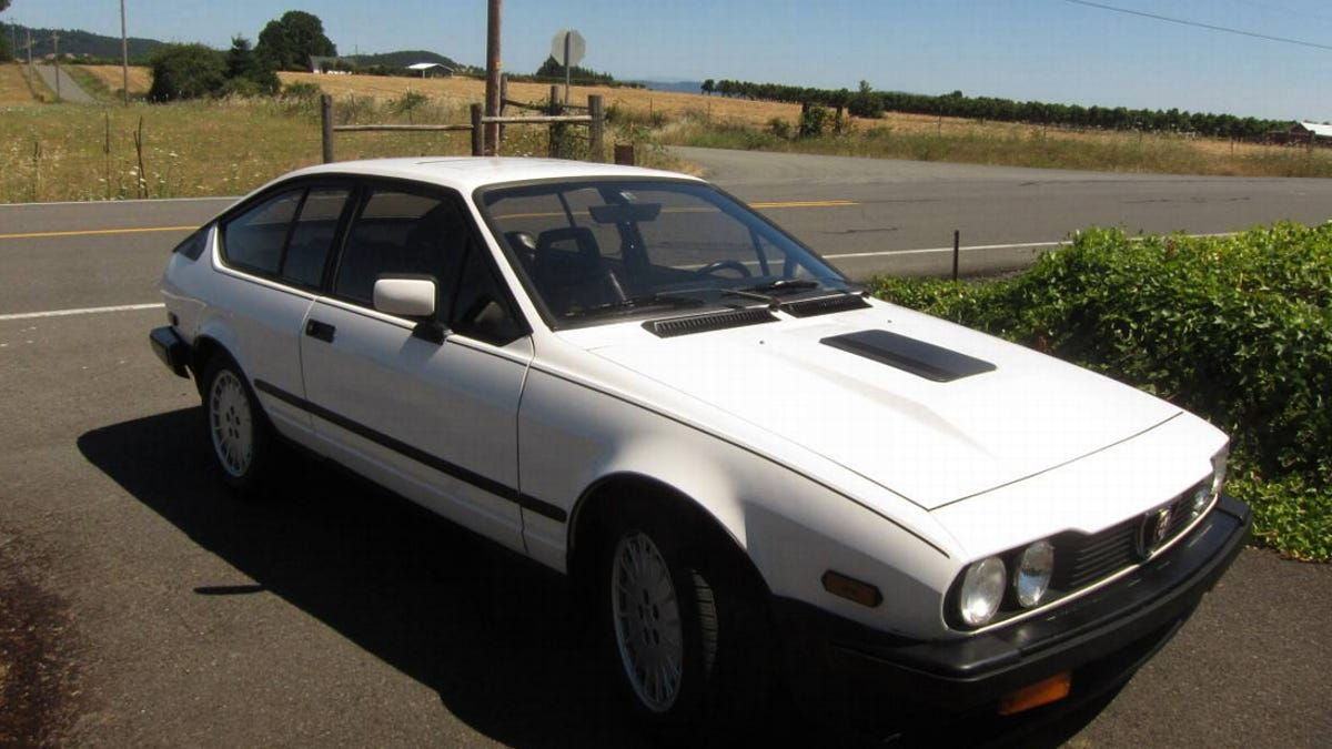 At 6 995 Could You Get Enthused Over This 1985 Alfa Romeo Gtv6