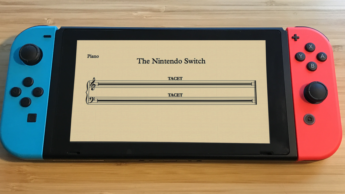 The Nintendo Switch Really Needs More Music