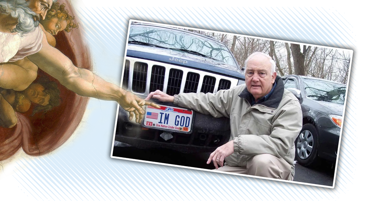 Court Says It's Okay To Have A License Plate That Proclaims IM GOD In Kentucky