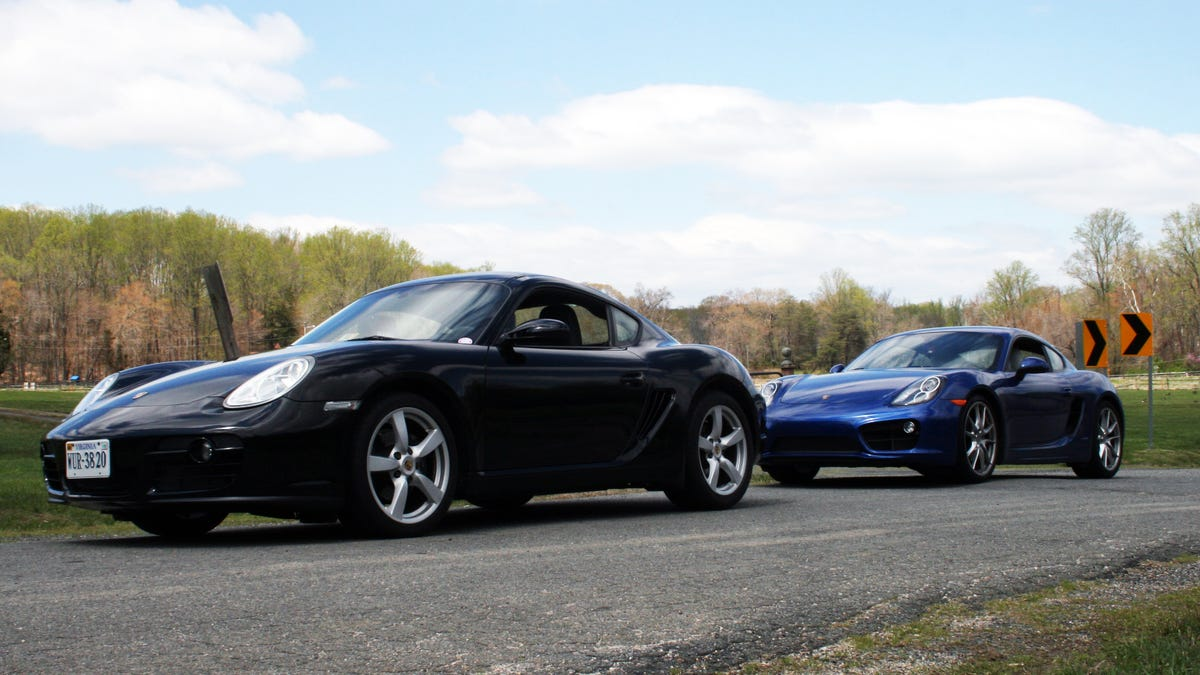 How Much Better Is The New Porsche Cayman Than The Old One