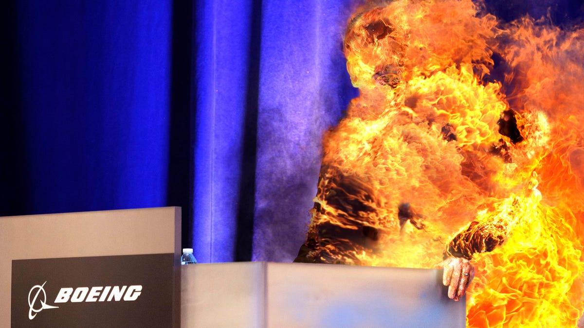 Boeing Κρυπτογράφησης, Μετά τη Νέα CEO πιάσει Φωτιά Κατά την Πρώτη Συνέντευξη Τύπου