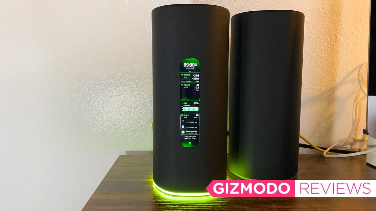 The Ubiquiti Amplifi Alien Is a Positively Luxurious Wi-Fi 6 Router