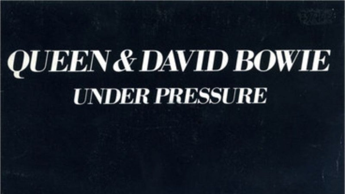 "The isolated vocals for David Bowie and Freddie Mercury's ""Under Pressure"" are pretty magical"