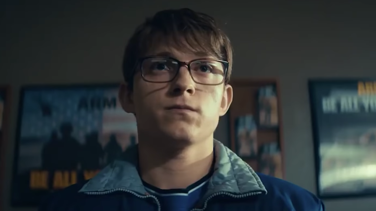 The Russo Brothers (and Tom Holland's bangs) are back in the first tease for Apple TV+'s Cherry - The A.V. Club